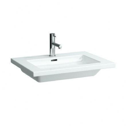 816431 - Laufen Living Square 650mm x 480mm Washbasin - 8.1643.1